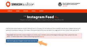 クリックすると、下図のページが開かれるので、「Click here・・・」ボタンをクリックする。